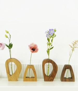 우드아트화병 Wood Art Vase